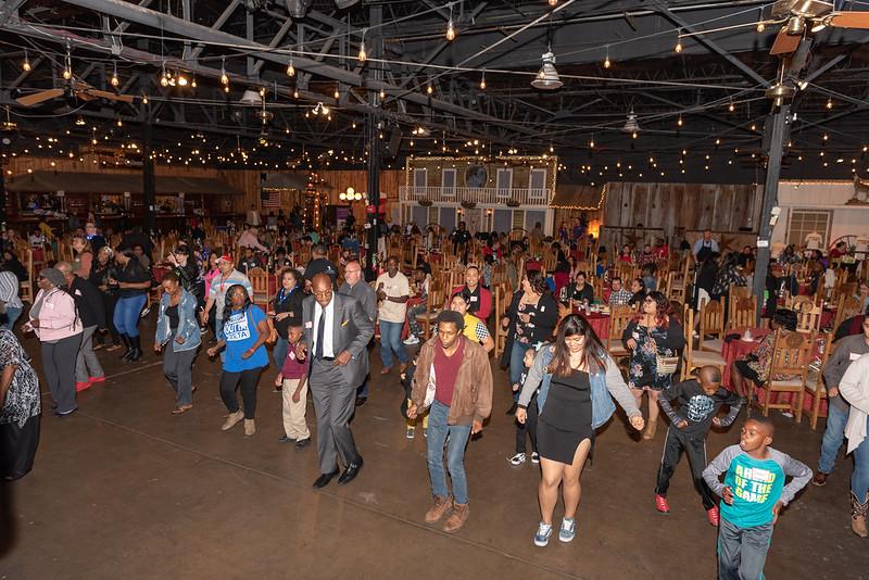 Grad Blast Crowd Dancing