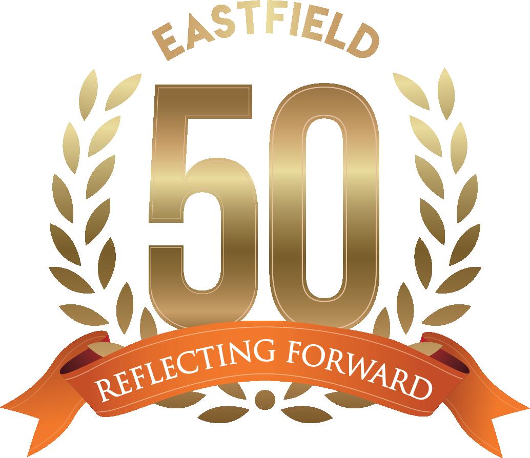 Eastfield 50th Reflecting Forward