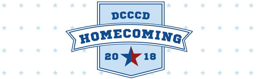DCCCD homecoming logo