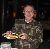 Charles McAdams at a Restaurant