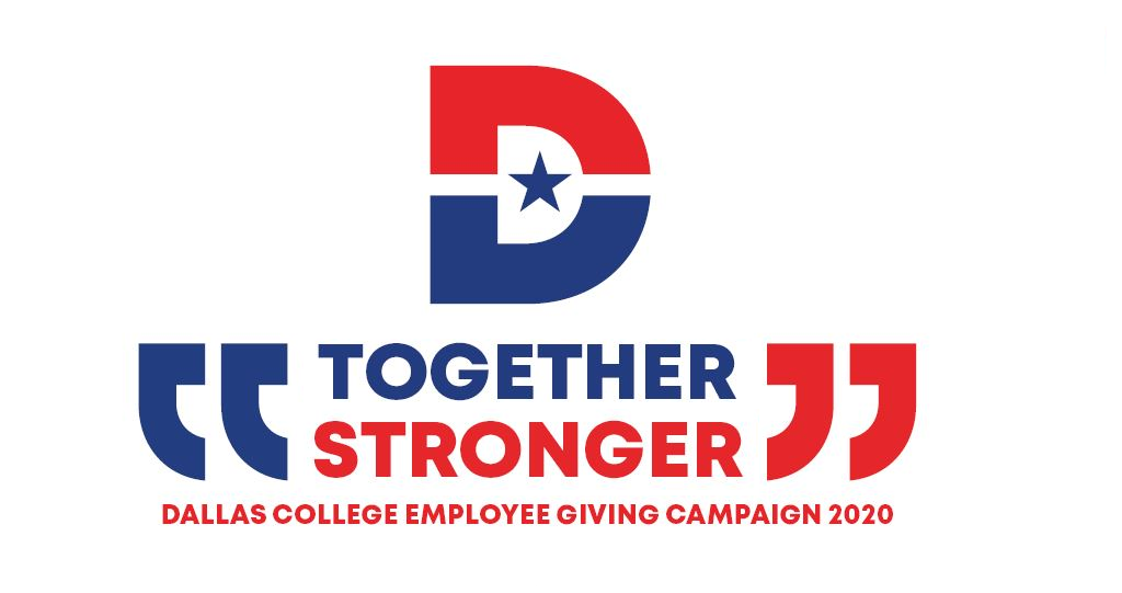 Together Stronger Dallas College Employee Giving Campaign 2020