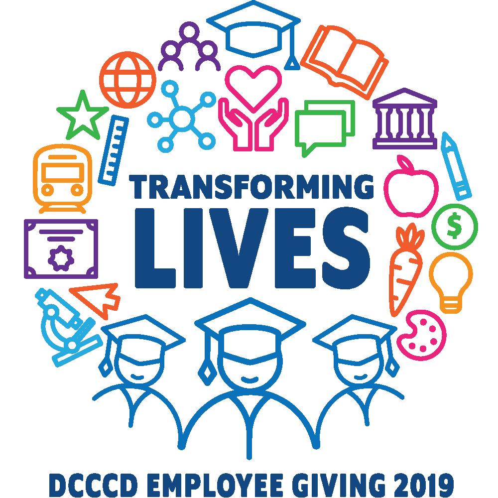 Employee giving campaign logo