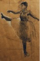 Meagan Corey Eastfield College Degas Study Charcoal and pastel on Kraft paper