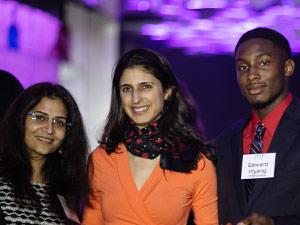 Nina Tandon with STEM Scholars