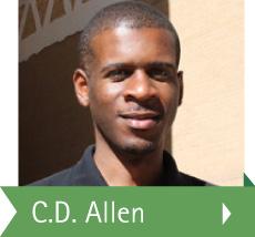 Photo of DCCCD student C.D. Allen