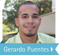 Photo of DCCCD student Gerardo Puentes