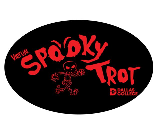 Spooky Trot Cling