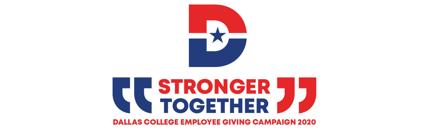 Stronger Together Dallas College Employee Giving Campaign 2020