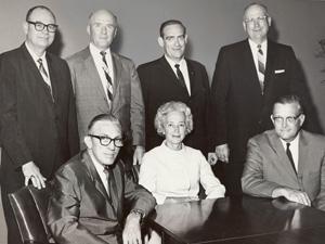 Dallas County Junior College District Board circa 1965